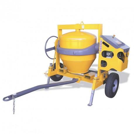 bétonnière 350 litres tractable