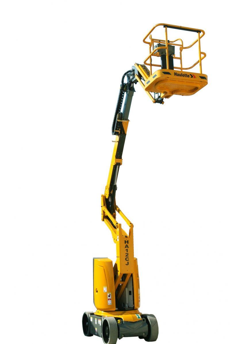 Nacelle articulée électrique de 12 mètre et 250 kg
